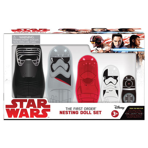 PPW Toys Star Wars 8 - The Last Jedi The First Order Nesting Dolls Set